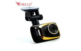 Wideorejestrator Orllo RX-600 wysokiej rozdzielczości WFHD 2560x1080p z systemem Ambrella G-sensorem