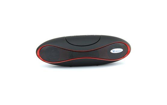Przenośny Głośnik stereo Bluetooth Orllo F-909 z Radiem FM, czytnikiem kart microSD oraz wejściem AUX (mini jack) o mocy 2x3W