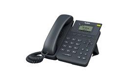 Telefon VoIP Yealink T19P E2 LCD z zestawem głosnomówiącym full duplex oraz obsługą zestawu słuchawkowego