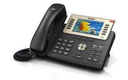 Telefon VoIP Yealink T29G z obsługą technologii PoE 16 kont SIP obsługa zestawu słuchawkowego USB kolorowy wyświetlacz LCD