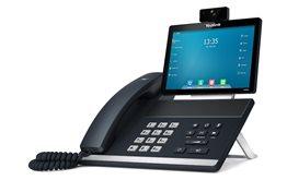 Telefon VoIP Yealink T49G dwa porty Gigabit PoE 16 kont SIP bluetooth, WiFi, nagrywanie połączeń, Dotykowy ekran LCD, kamera HD