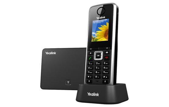 Telefon DECT Yealink W52P PoE z technologią szerokopasmową do 5 kont VoIP