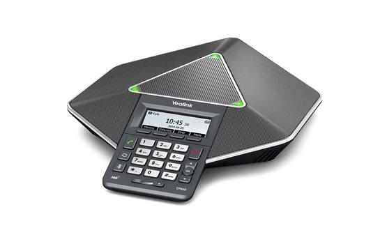 Telefon konferencyjny 5-stronny Yealink CP860 IP z nagrywaniem połączeń, możliwością podłączenia do telefonu bądź komputera