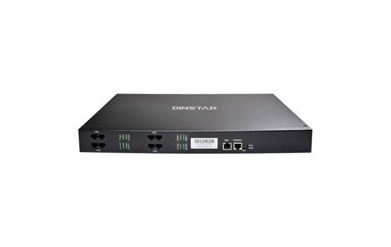 Bramka VoIP Dinstar DAG2000 24FXS do łatwego podłączenia 24 telefonów analogowych. Bramka z funkcją switcha.