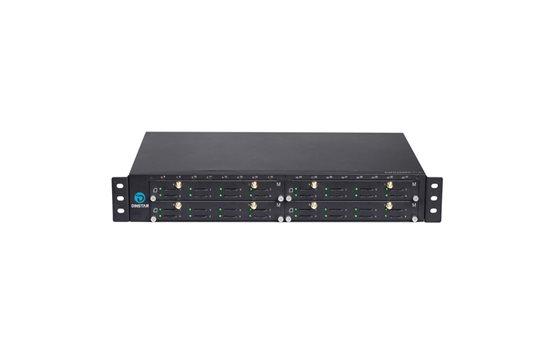 Bramka VoIP - GSM do 32 kanałow GSM Dinstar DWG2000GM-32G Splitter ze wskaźnikiem sygnału i trybem mostu lub routera
