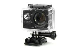 Kamera Sportowa FullHD Orllo SJ6000 wodoodporna, 14mpx 170 stopni, f/1.8 WiFi z pilotem na nadgarstek! Uniwersalne mocowania