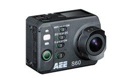 Kamera Sportowa Orllo AEE S60 1080p/60fps 960p/60fps 720p/120fps stabilizacja obrazu, Time Lapse, obudowa wodoszczelna do 100m!