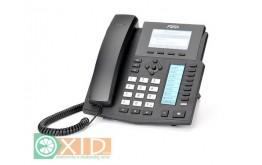Fanvil X5/ X5G to sześcioliniowy telefon VoIP z wbudowanym POE , 2 ekrany LCD (główny i DSS) (wersja X5G – port gigabit) NOWOŚĆ!