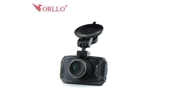 Wideorejestrator Orllo RX-610 wysokiej rozdzielczości Super Full HD Cinema 2304x1296p z asystentem kierowcy